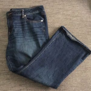 American Eagle stretch Favoite boyfriend jeans 18